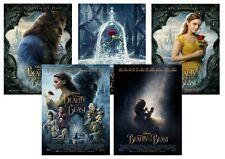 Walt Disney: Beauty & the Beast  A5 A4 A3 Movie DVD Posters