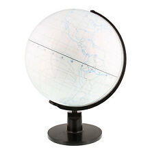 "12.6"" Inch (32cm) Large White Drawing Board World Earth Globe"