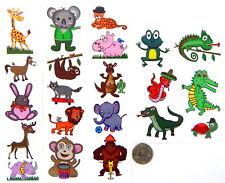 Zoo Animal Temporary Tattoos - 7 sheets (36 tattoos) - Fake Kids Tattoo