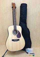 Caraya SDG-07N Solid Spruce Top,Dreadnought Acoustic Guitar,Natural+Free gig bag