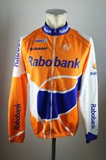 Rabobank agu rueda chaqueta camiseta talla L BW 58cm Cycling Jersey bike camisa fe4