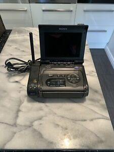 Sony Video Walkman GV-S50E PAL Video8 Hi8 8mm Player Monitor Recorder UNTESTED