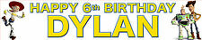 2 X Toy Story Personalised Birthday Banners