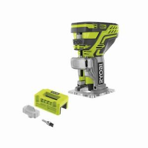 RYOBI ONE+ Cordless Fixed Base Trim Router w Latch Mortiser 18 Volt Tool Only