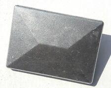 Pfostenkappe Abdeckkappe Alu natur Doppelstabmattenzaun f.Pfosten 40x60mm