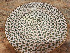 """Japanese Satsuma or Kutani Handpainted 1000 Flowers Milefiore Plate 7.5"""""""