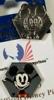 Disney Pin 2019 Hidden Mickey - Mickey Mouse Wave B & Mickey Mouse CHASER TRADED