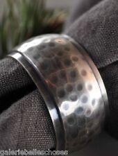 Artefina Serviettenring Serviettenhalter Metall Napkin Ring Tisch Deko