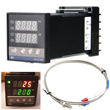PID Digital Temperature Control Controller Celsius C 400°C Thermocouple REX-C100