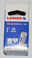 Lenox holesaw 16mm wood & metal