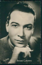 Andre Claveau Movie star cinema original old from c1920-1950s photo postcard