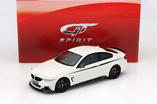 BMW 435i M Performance Baujahr 2015 weiß 1:18 GT-SPIRIT
