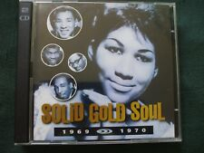 Time Life Solid Gold Soul 1969 - 1970.Double CD.Discs In Excellent Condition