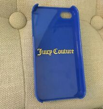 Juicy Couture Blue Paisley iPhone Case, 4 & 4S
