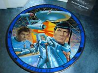 Star Trek The Tholian Web Collectable Plate 1996 with COA