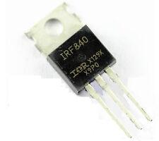 5 pcs IRF840 MOSFET transistor New CA