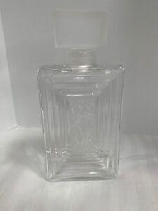 Lalique Duncan Nudes Bottle France Crystal Signed Beautiful Vintage