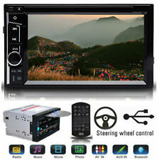 """NEW 6.2"""" Double 2 DIN Car DVD Player Stereo Head Unit Touch Screen Radio UK"""