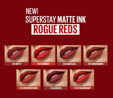 Maybelline Superstay Matte Ink ROGUE Shades Edition
