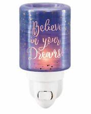 BNIB 'BELIEVE IN YOUR DREAMS' Scentsy Plugin Mini Warmer