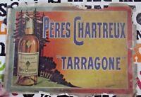 Ancienne Publicité Liqueur les Pères Chartreux Tarragone Old Advertisement Lique