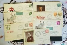 Denmark, Danmark, nice lot of all different Frederik IX FDC's