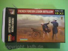 NEU 1:72 Strelets #290 Kolonialkrieg Fremdenlegion Artillerie Foreign Legion Gun