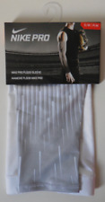 Nike Pro Flood Bsbl Arm Sleeve White/Wolf Grey/Silver Size S/M - 1 Sleeve Only