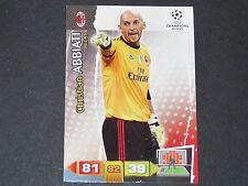 ABBIATI ROSSONERI MILAN AC UEFA PANINI CARD FOOTBALL CHAMPIONS LEAGUE 2011 2012