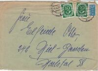 Germany 1954 Hamburg Cancel Obligatory Tax Aid for Berlin Stamps Cover Ref 27350
