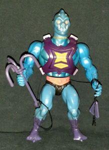 VINTAGE 1984 MATTEL HE-MAN MOTU WEBSTOR ACTION FIGURE WITH HOOK AND WEIGHT!