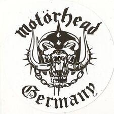 Sticker  MOTORHEAD GERMANY  80mm