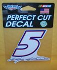KASEY KAHNE #5 WINCRAFT 4X4 DECAL STICKER FREE SHIPPING