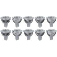 10 x Paulmann 280.52 Power LED Reflektor 1W GU5,3 tageslicht Leuchtmittel