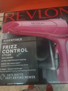 Revlon 1875W Frizz Control Lightweight Hair Dryer New Item in Open Box