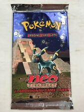 Pokemon Neo Discovery Booster Pack- Factory Sealed Excellent Condition UNWEIGHED