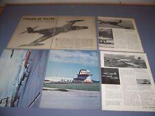 VINTAGE..AVRO CF-100..STORY/HISTORY/PHOTOS/SPECS...RARE! (901F)