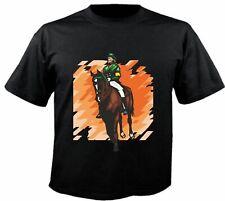 Motiv Fun T-Shirt Reitsport Pferd Dressurreiten Sport Hobby Motiv Nr. 6242