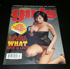"""Girls of Lowrider Spring 2007 Magazine """"Lana's Showing What She's Got"""""""