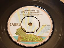 """Sparks, Something For The Girl With Everything, 1974, WIP.6221, Vinyl, 7"""""""