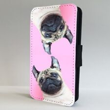 Pug Dog Funny Cute Face FLIP PHONE CASE COVER for IPHONE SAMSUNG
