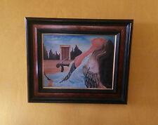 Tableau Alain Ronan acrylique sur toile - Oeuvre 20ème nue, surréalisme abstrait