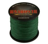 Super Strong PE Moss Green 100-1000M 6-300LB Super Power Braid Fishing Line