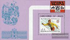 Kaap Verde Blok 3 (compleet.Kwestie.) postfris MNH 1981 Stamp Exhibition