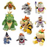 Super Mario Bros King Koopa Bowser, Wedding Bowser Plush Doll Stuffed Toys Gift