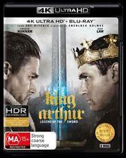 King Arthur Legend Of The Sword 4K Blu-Ray UHD UV NEW Region B