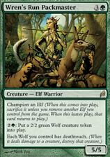 Veneur de la garenne du Roitelet - Wren's Run Packmaster - Elfe - Magic mtg -