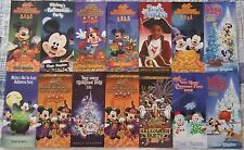 Magic Kingdom After Hours Parties Ephemera Collection 14 Different Items