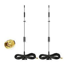 2 un. 4G LTE Antena Magnética Celular SMA para Huawei B260 B683 B970B B593 Router