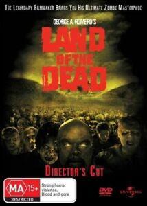 George A Romero Land Of The Dead DVD - 2005 Zombie Movie John Leguizamo Argento